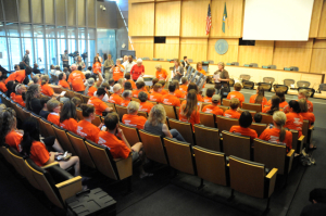 Elephant advocates at City Council
