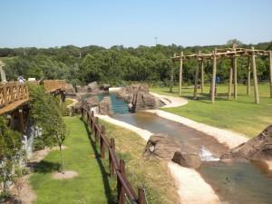 OK City Zoo elephant yard